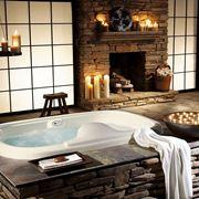 Esempio di bagno in muratura