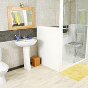 esempio di box doccia disabili