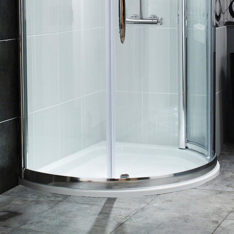Misure piatti doccia semicircolari