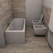 Un bagno ristrutturato