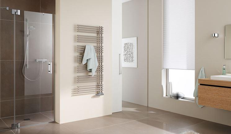 Radiatori per bagno bagno e sanitari modelli termoarredo - Radiatori scaldasalviette per bagno ...