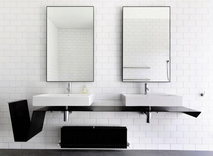 Moderni specchi rettangolari