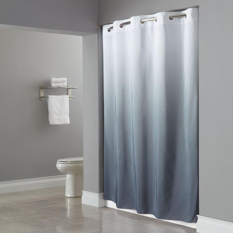 Modello tende doccia