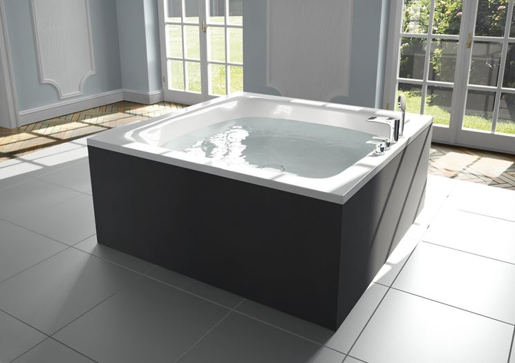 Vasca Da Bagno Per Due : Vasca per due bagno e sanitari installare una vasca per due
