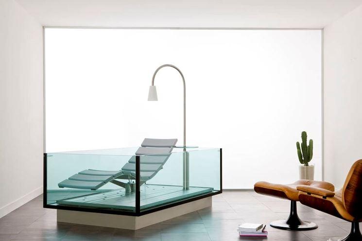 Vasca Da Bagno Vetro : Vasche da bagno in vetro bagno e sanitari caratteristiche