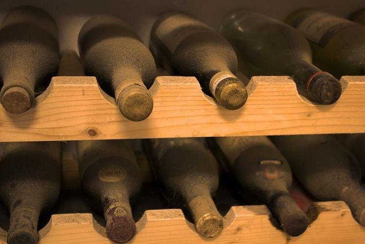 Conservazione del vino in cantina