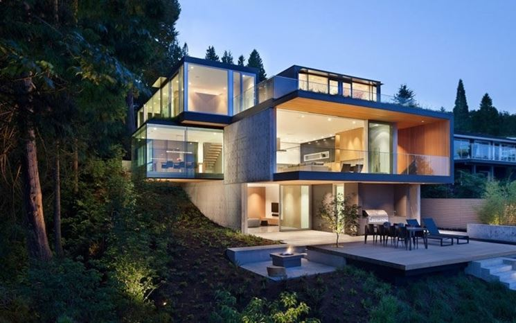 Vetri casa ecologica