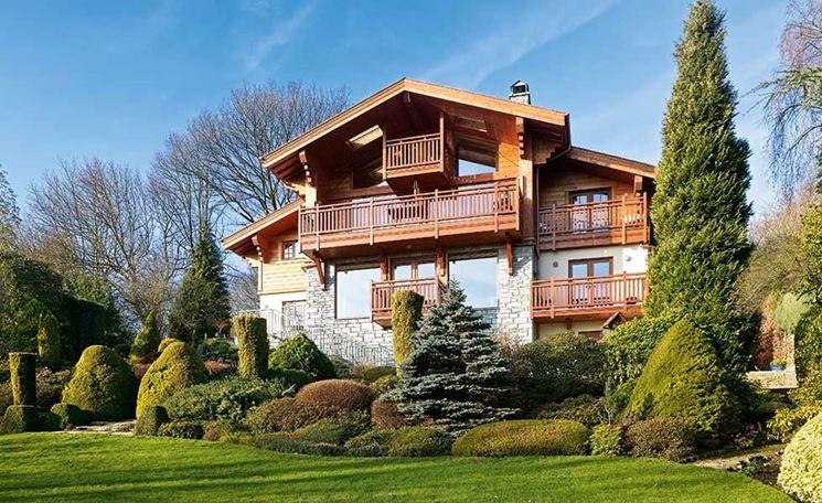 Casa in montagna costruire casa baita - Tende casa montagna ...