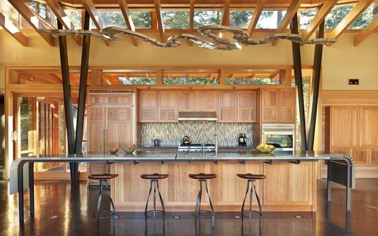 Casa in montagna cucina