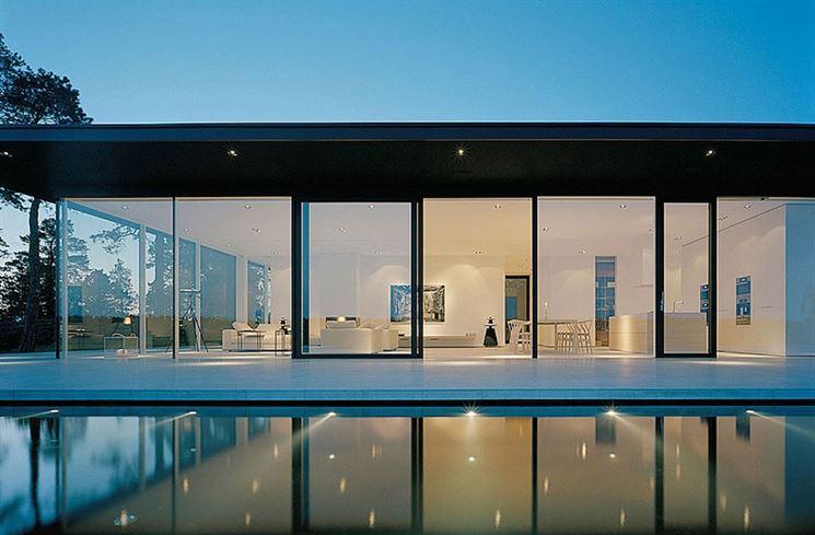 esempio di casa panoramica