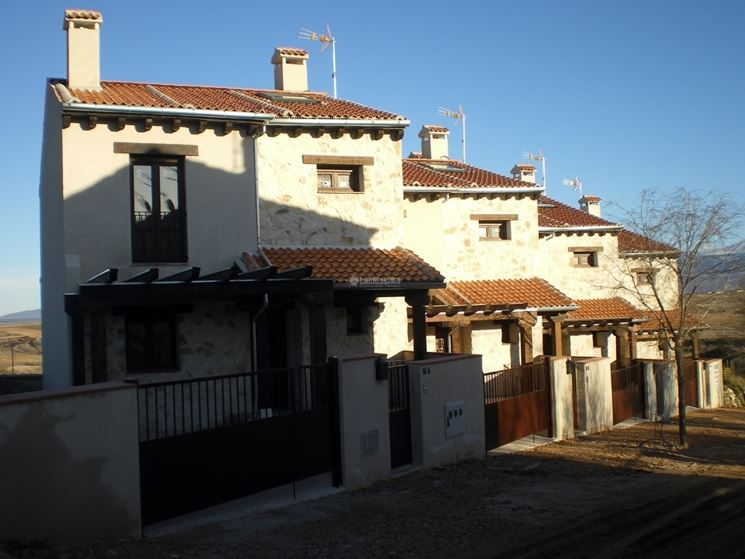Case a schiera costruire casa disposizione abitazioni - Costruire la casa ...