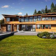 Casa antisisimica in legno
