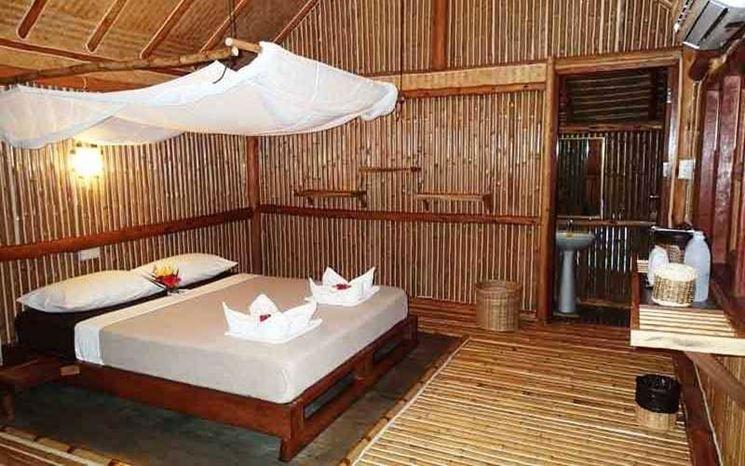 Casa antisismica in bamboo