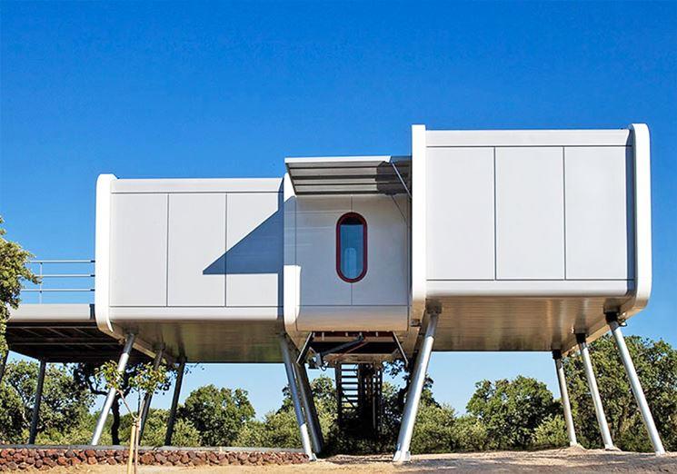 Casa attiva futuristica