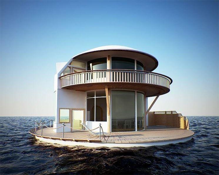 Originale casa galleggiante