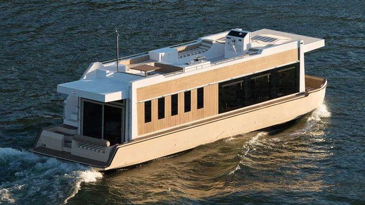 Barca abitabile