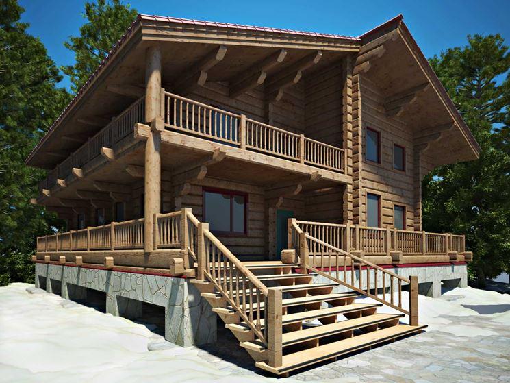 Case in legno costruire casa casetta legno for Costruire case