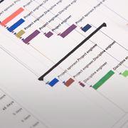 Esempio di cronoprogramma dei lavori