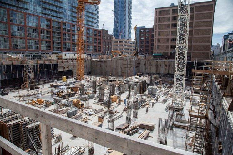 Esempio di lavori edili