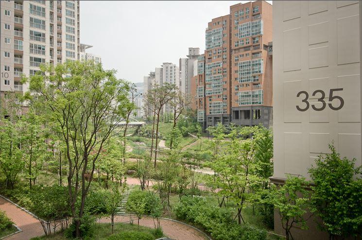 La città giardino corea del sud