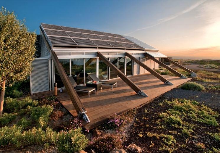 Progettazione casa, una casa bioclimatica