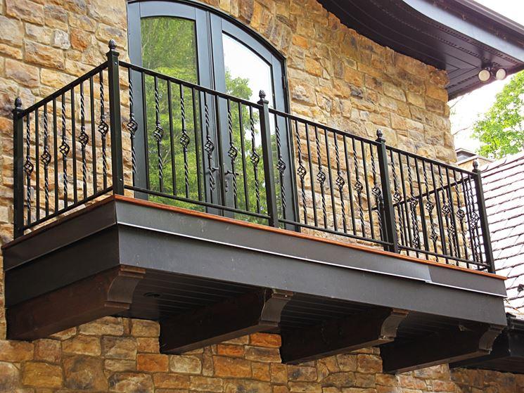 Balcone stile classico
