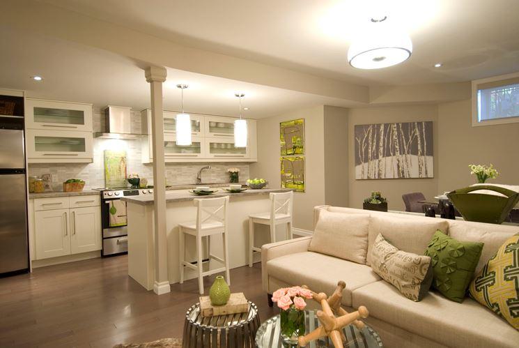 Angolo cottura in soggiorno - Cucine - Arredamento soggiorno