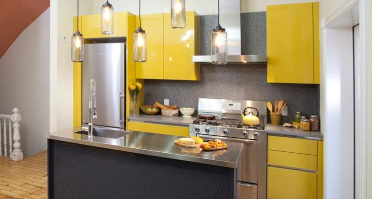 Cucina piccola e accogliente