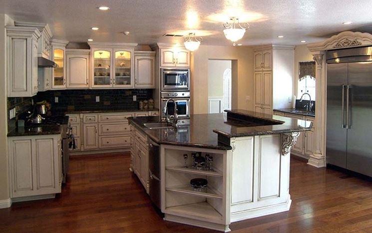Cucina all\'americana - Cucine - Tipologie cucine