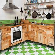 ... in muratura, legno o con mobili da montare facilmente a casa