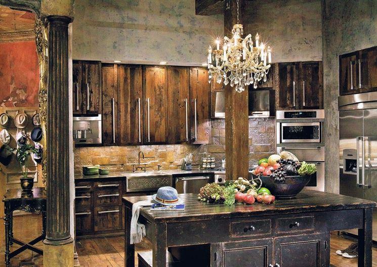 Esempio di cucina rustica