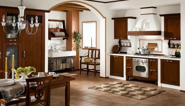 Cucina in muratura rustica cucine stile cucine for Cucine in stock