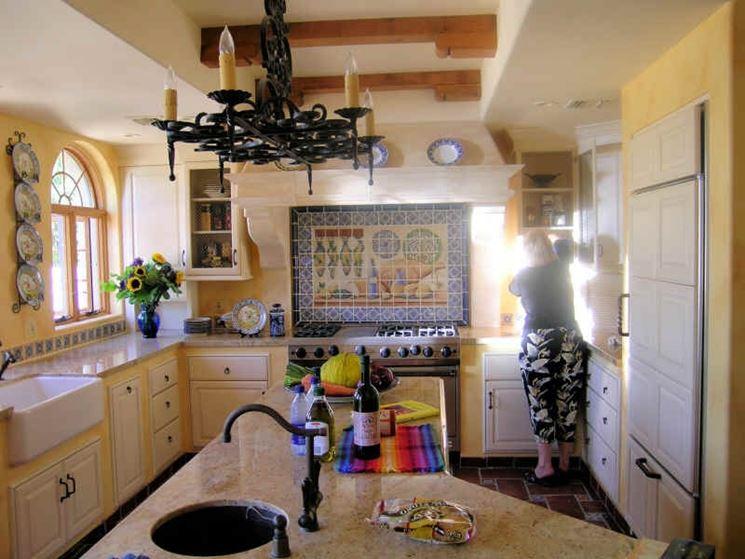 Ottimizzazione degli spazi di una cucina in muratura