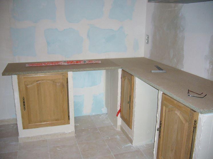 Cucina in muratura cucine modelli cucine - Casa in muratura portante ...