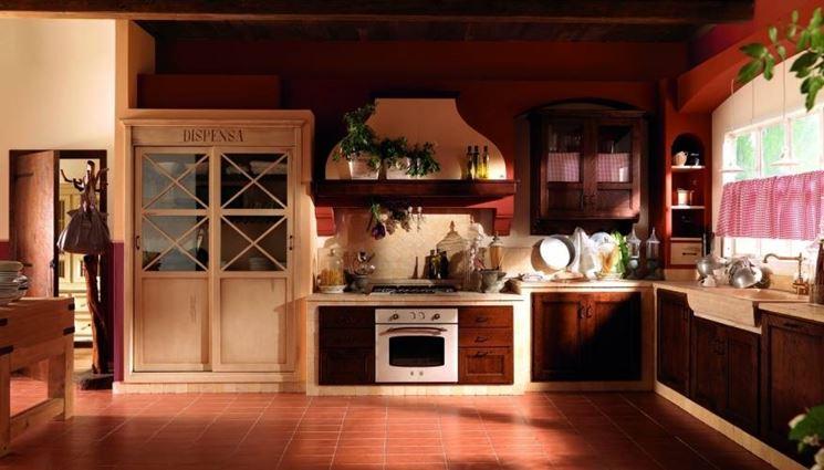 Cucine artigianali cucine caratteristiche delle cucine - Esempi di cucine in muratura ...