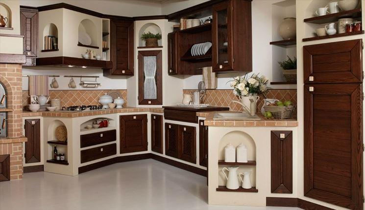 Cucine finta muratura cucine caratteristiche delle - Cucine finta muratura prezzi ...