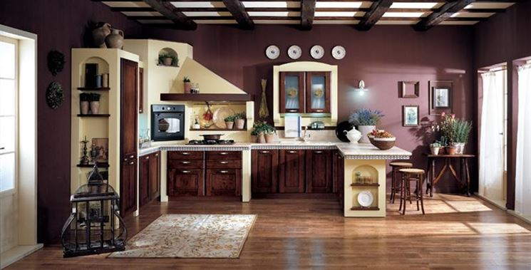 Cucine finta muratura cucine caratteristiche delle cucine in finta muratura - Costo cucine in muratura ...