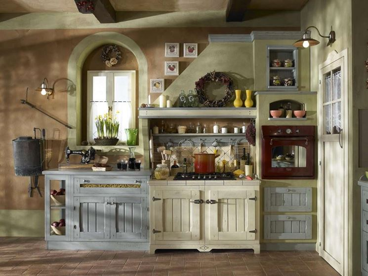 Beautiful Cucina Finta Muratura Contemporary - Ideas & Design 2017 ...