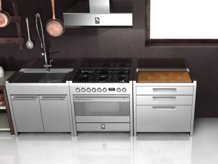 Cucina free standing moderna