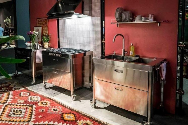 Stunning Mobili Cucina Freestanding Images - Design & Ideas 2017 ...