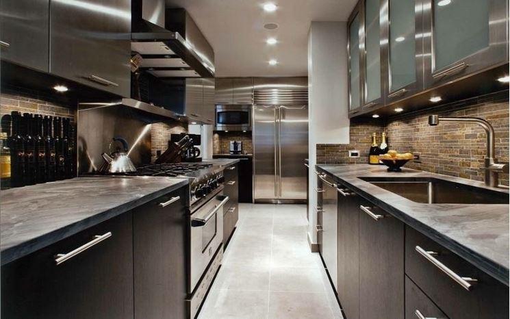 Cucine in acciaio inox cucine cucina acciaio - Cucine in acciaio inox ...
