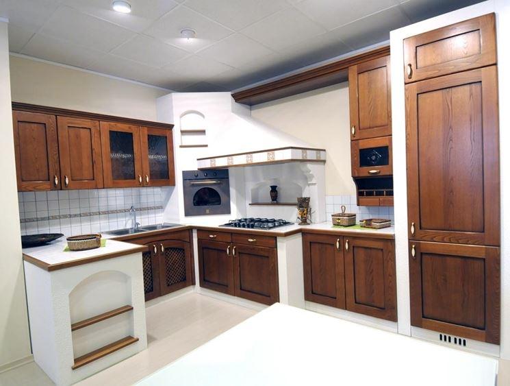 Cucine in finta muratura - Cucine - Realizzare cucine in ...