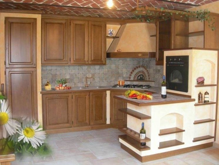 Cucine in finta muratura cucine realizzare cucine in - Cucine in finta muratura ...