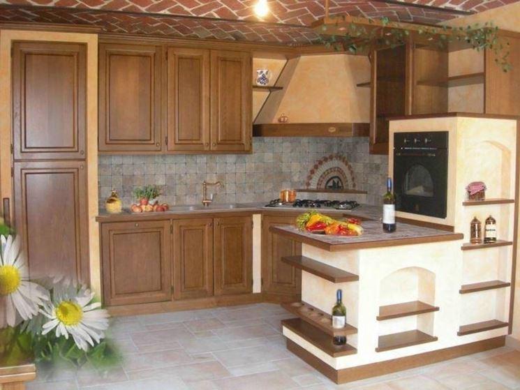 Cucine in finta muratura cucine realizzare cucine in - Bagno finta muratura ...