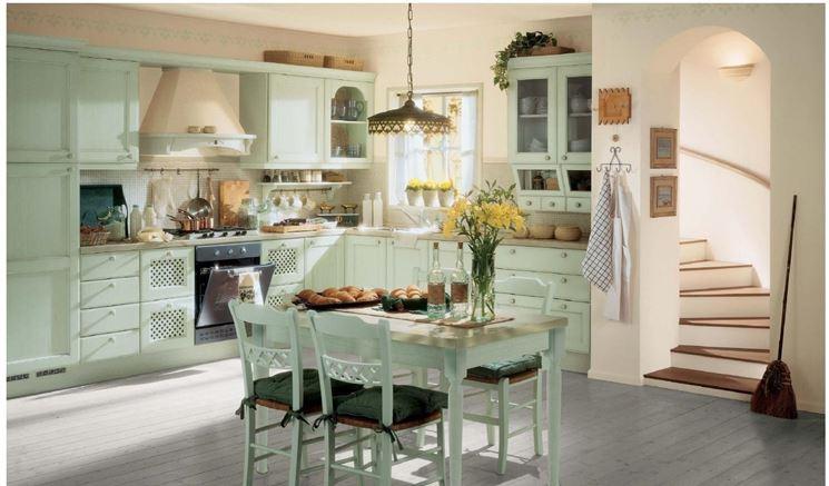Cucine stile provenzale cucine scegliere con una - Cucina country provenzale ...