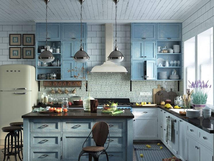 Piastrelle Cucina Stile Provenzale VW15 » Regardsdefemmes