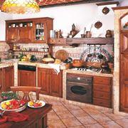 Esempio di una cucina in muratura