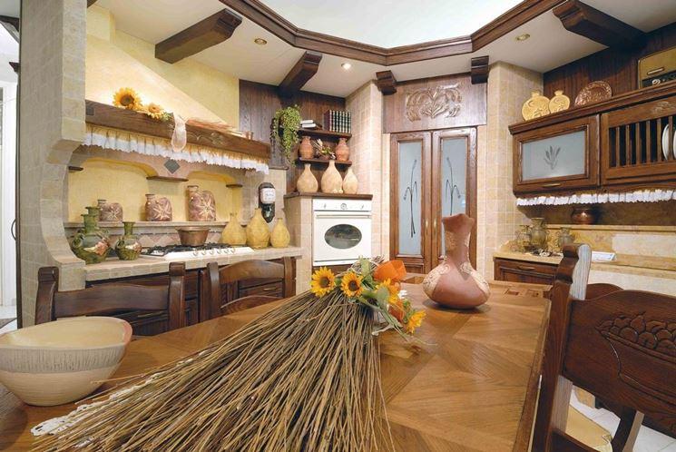 La cucina in muratura cucine tipologie di cucine in - Struttura cucina in muratura ...