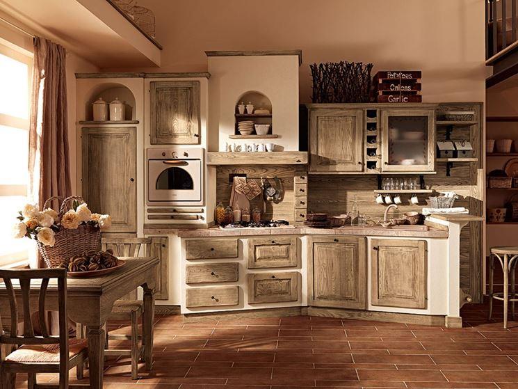 La cucina in muratura   cucine   tipologie di cucine in muratura