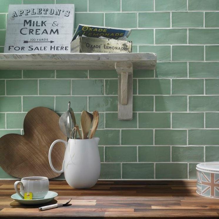 piastrelle gres porcellanato per cucina
